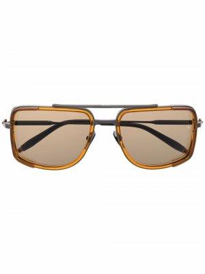Солнцезащитные очки-авиаторы Stargazer Akoni. Цвет: черный