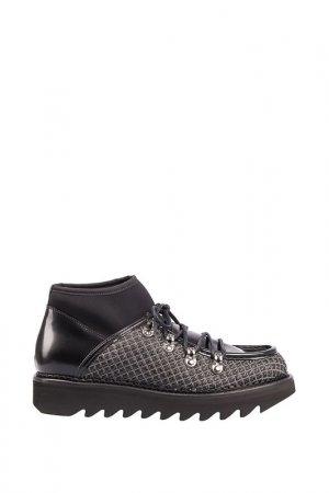 Ботинки Alberto Guardiani. Цвет: черный/серебряный
