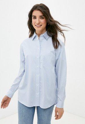 Рубашка Guess Jeans. Цвет: голубой