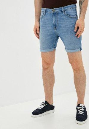 Шорты джинсовые Lee SLIM RIDER. Цвет: синий