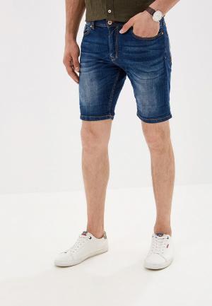 Шорты джинсовые Alcott. Цвет: синий
