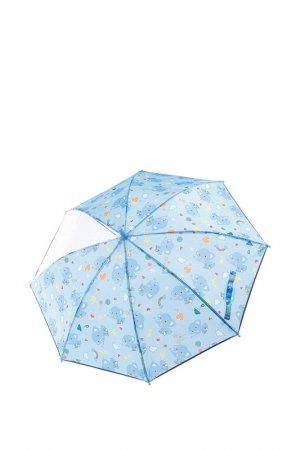 Зонт-трость PlayToday. Цвет: синий