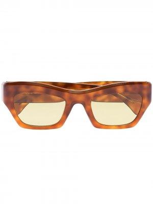 Солнцезащитные очки Ayreen Port Tanger. Цвет: коричневый