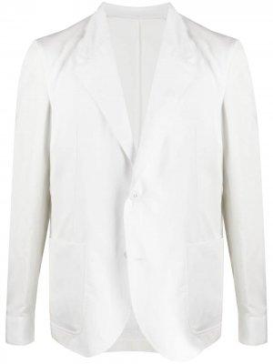 Однобортный пиджак Neil Barrett. Цвет: белый