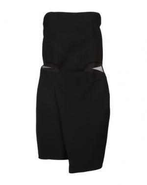 Короткое платье C'N'C' COSTUME NATIONAL. Цвет: черный