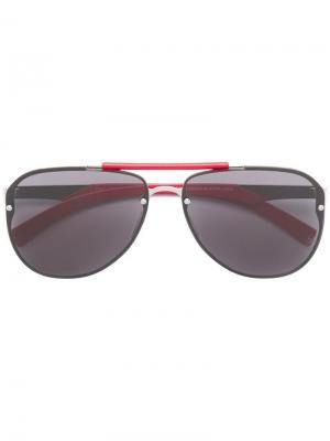 Солнцезащитные очки Calypso Philipp Plein. Цвет: черный