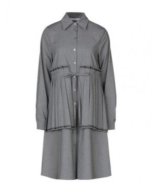 Короткое платье BEATRICE. Цвет: серый