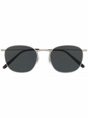 Солнцезащитные очки Goldsen в квадратной оправе Oliver Peoples. Цвет: 5036p2 серебристый