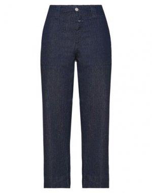 Укороченные джинсы CLOSED. Цвет: синий