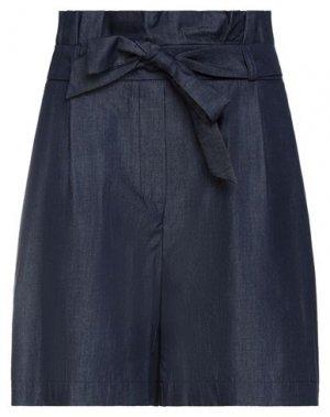 Джинсовые шорты ERMANNO DI SCERVINO. Цвет: синий