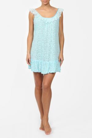 Сорочка Balancelle. Цвет: аквамариновый