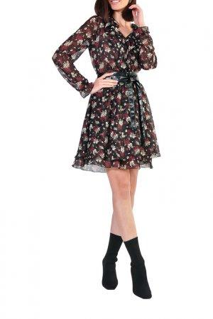 Платье Forus. Цвет: черный, молчный, бордовый
