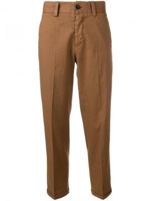 Укороченные брюки чинос строгого кроя Pt01