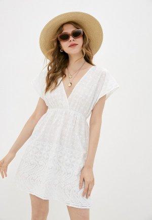 Платье Снежная Королева. Цвет: белый