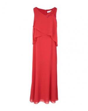 Длинное платье GAIA LIFE. Цвет: красный