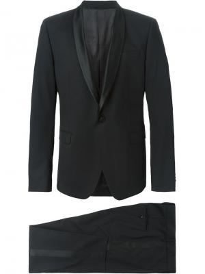 Классический костюм-двойка MSGM. Цвет: чёрный