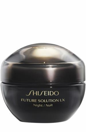 Крем для комплексного обновления кожи Future Solution LX Shiseido. Цвет: бесцветный