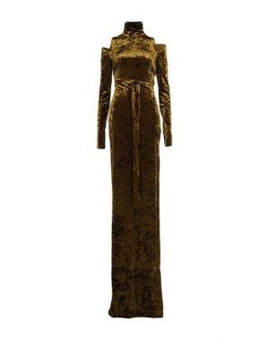 Длинное платье CAMILLA AND MARC. Цвет: зеленый-милитари