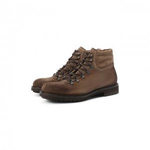 Замшевые ботинки Doucals Doucal's. Цвет: коричневый