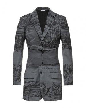 Пиджак COMME des GARÇONS. Цвет: свинцово-серый