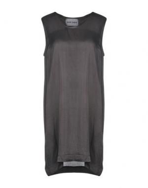 Короткое платье BRAND UNIQUE. Цвет: стальной серый