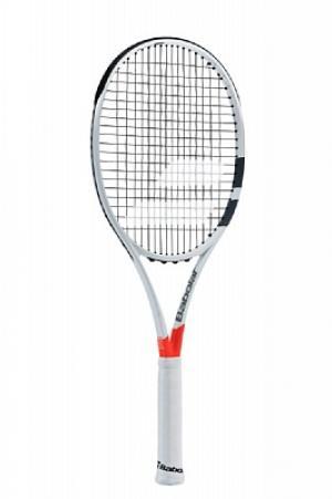 Ракетка для большого тенниса Pure Strike Team Babolat. Цвет: белый