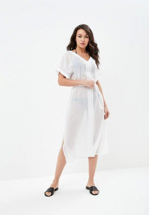 Платье пляжное Calvin Klein Underwear. Цвет: белый