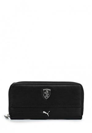 Портмоне Puma Ferrari LS Wallet F black. Цвет: черный
