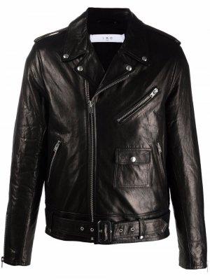 Куртка на молнии IRO. Цвет: черный