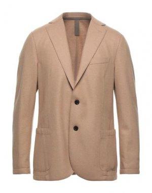 Пиджак ELEVENTY. Цвет: верблюжий