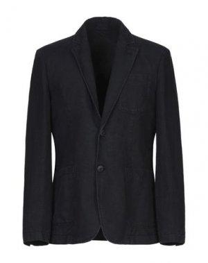 Пиджак ERMANNO DI SCERVINO. Цвет: темно-синий