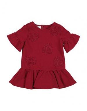 Платье ELSY. Цвет: красный