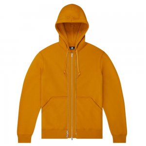 Utility Fleece Full Zip Layering Hoodie Converse. Цвет: оранжевый