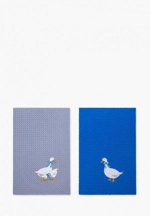 Набор полотенец кухонных Bellehome Гуси-Лебеди, 50х70