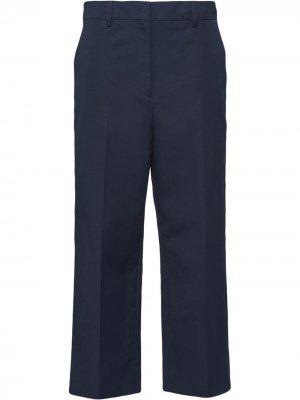 Укороченные брюки чинос Prada