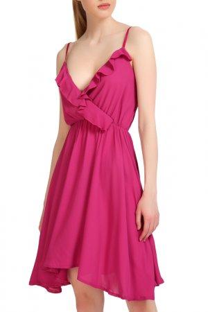 Платье Fornarina. Цвет: розовый