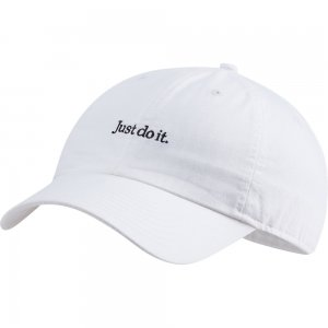 Sportswear Heritage86 Just Do It Wash Cap Nike. Цвет: белый