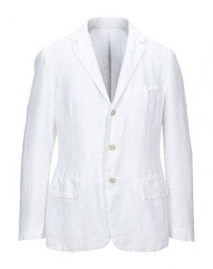 Пиджак 120%. Цвет: белый