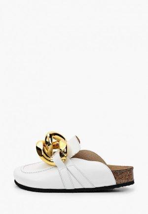 Мюли Grand Style. Цвет: белый