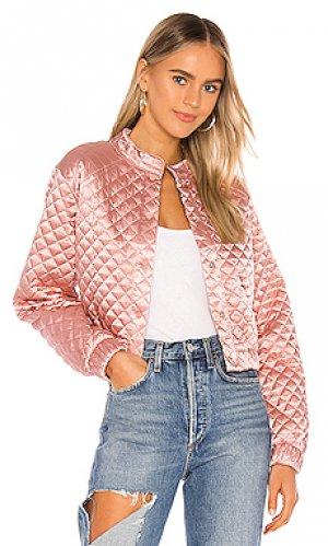 Kikka jacket Lovers + Friends. Цвет: pink