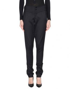 Повседневные брюки JASMINE DI MILO. Цвет: черный