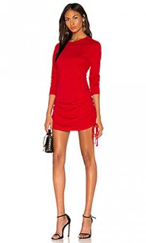 Платье-майка the lisbon COTTON CITIZEN. Цвет: красный
