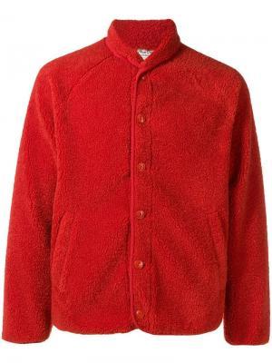 Куртка-бомбер YMC. Цвет: красный