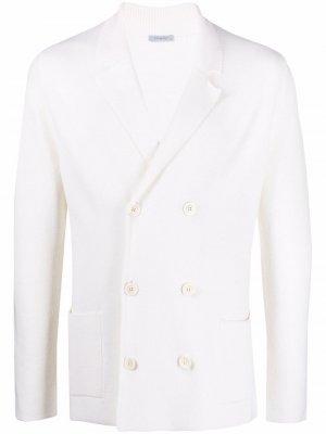 Двубортный пиджак Malo. Цвет: нейтральные цвета