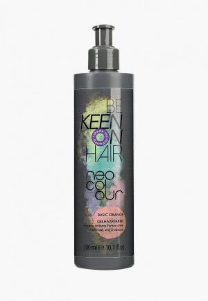 Тонирующее средство для волос Keen NEO COLOUR ORANGE (Оранжевый) 300 мл. Цвет: оранжевый