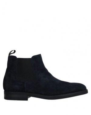 Полусапоги и высокие ботинки CAMPANILE. Цвет: темно-синий