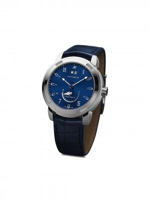 Наручные часы Power Reserve 42 мм Jorg Hysek. Цвет: синий