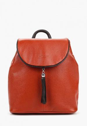 Рюкзак Franchesco Mariscotti. Цвет: оранжевый