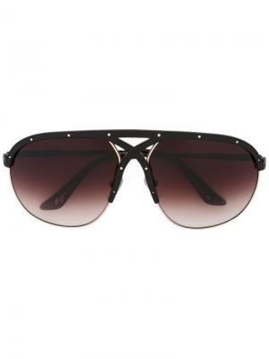 Солнцезащитные очки Voracious Frency & Mercury. Цвет: чёрный
