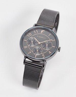 Часы с серым ремешком -Серый Fiorelli